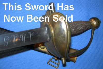 Napoleonic Wars Heavy Cavalry Sword