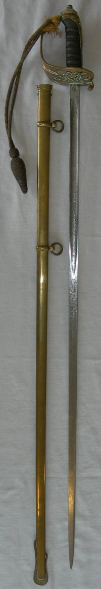 P1845 British Infantry General's / Staff Officer's Picquet Sword