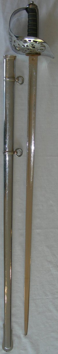1895 Pattern Victorian Infantry Officer's Sword