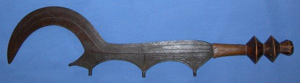 African Congo Ceremonial Sword