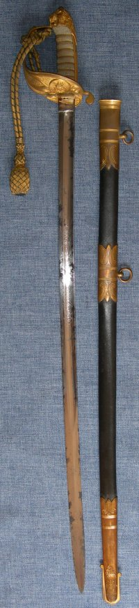 Victorian British Royal Naval Officer's Sword