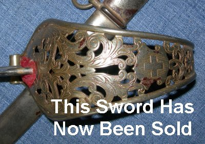 image 509 pipe back Swiss cavalry sabre sword 2