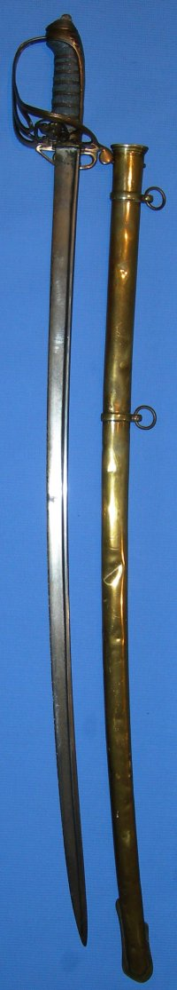 1822 P Senior East India Company Officer's Pipeback Sword