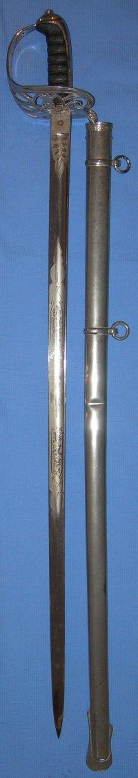 1827 Pattern Victorian Rifle Regiment Officer S Sword