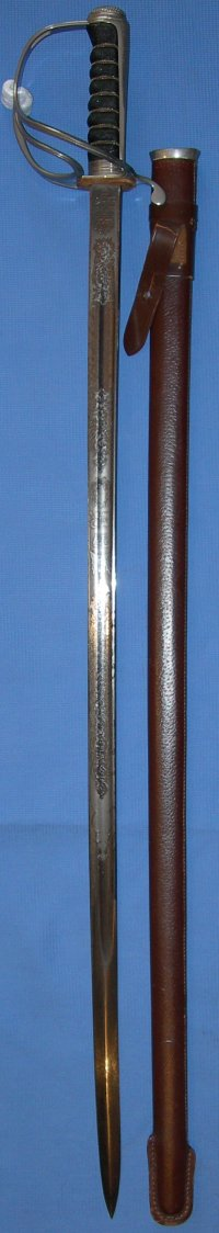 1821 Pattern RTC / Royal Artillery ERII Sword by Wilkinson