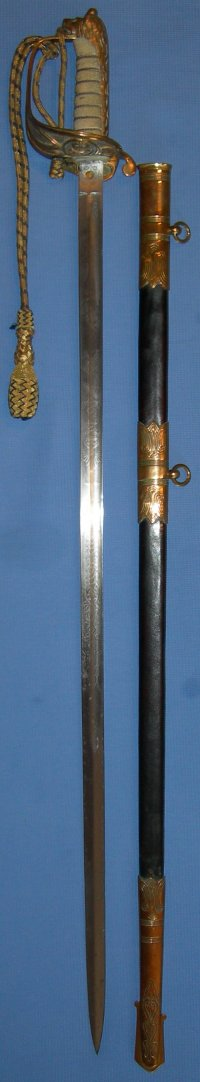 1827 Pattern George 5th Royal Naval Officer's Sword