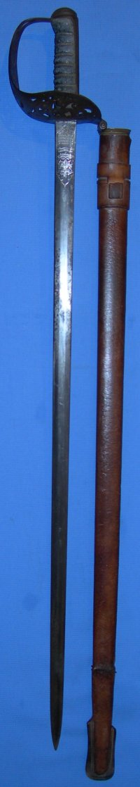 1821 P Macedonian Gendarmerie Sword of Major G L Bonham
