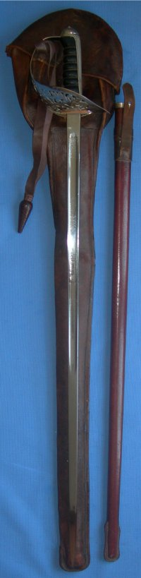 1897 Pattern George 5th Wilkinson British Infantry Officer's Sword