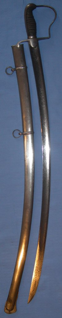 Mid 19th Century Prussian Cavalry Officer's Blucher Sabre