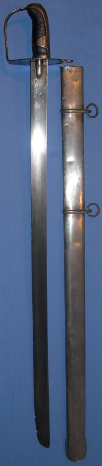 1796P British 2nd Life Guards Heavy Cavalry Sabre, Waterloo