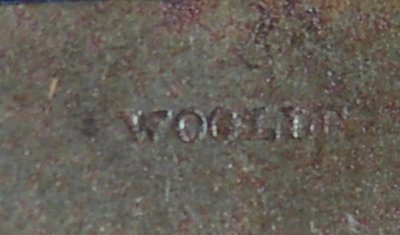 Woolley maker stamp