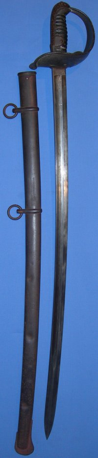 Swiss M1867 cavalry trooper's Sabre