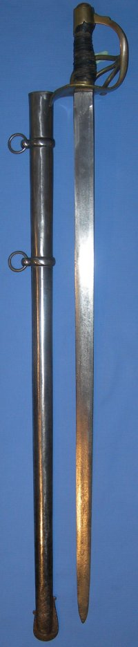 1832M Spanish Heavy Cavalry Sword / Sabre, dated 1839