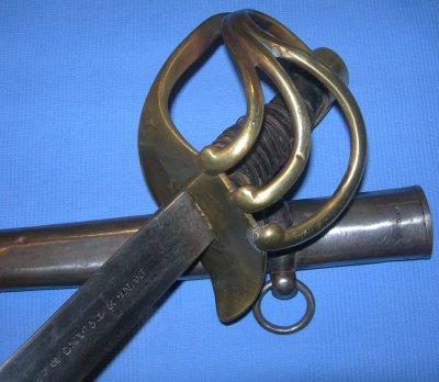 1832M Spanish Heavy Cavalry Sword / Sabre, dated 1839