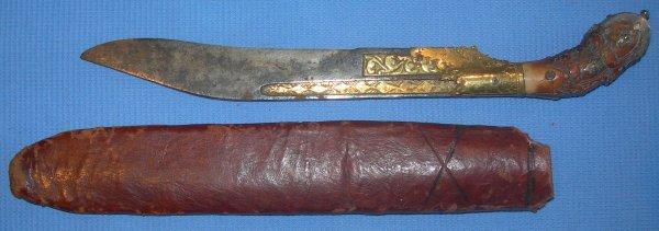 18th Century Ceylon / Singhalese Piha Kaetta with sheath