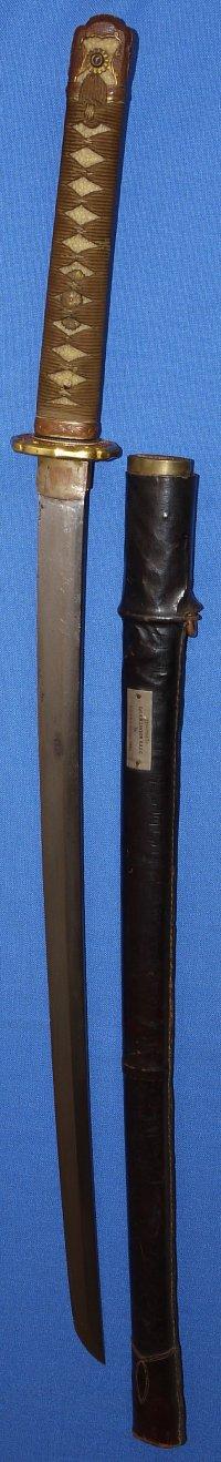 Ww2 Japanese Army Officer S Sword Shin Gunto