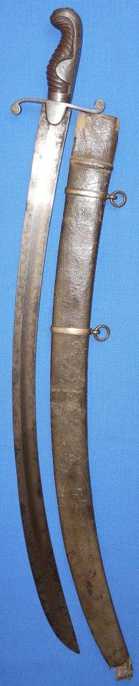 Napoleonic / Georgian British RN Master at Arms 1796P Sabre