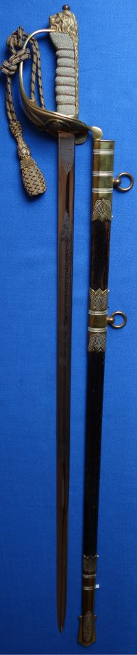 George VI / WW2 British Royal Navy Officer's Sword