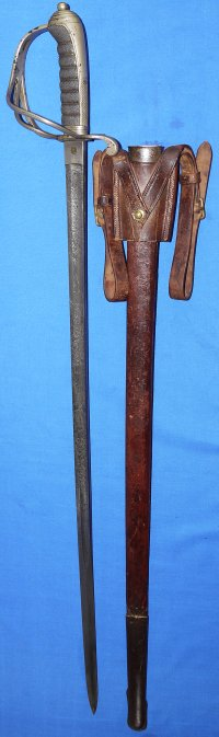 Boer War Era / Victorian British Artillery Officer's Sword