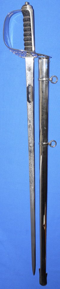 British ERII Infantry Officer's Wilkinson Sword