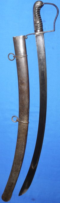 1796P British Light Cavalry Officer's Campaign Sabre by John Gill