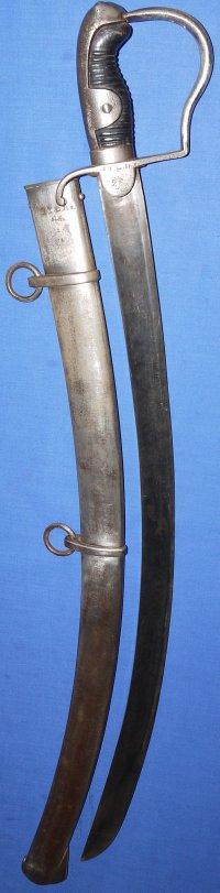 M1811 Waterloo Blucher Sabre, Pomeranian Hussars