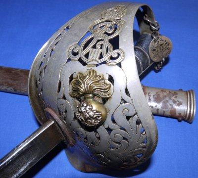 Edward VII Northumberland Fusiliers Wilkinson Sword