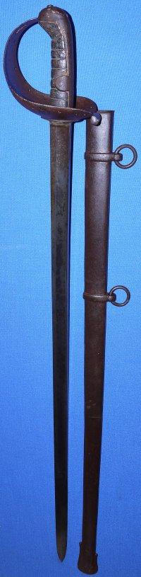 1820 Pattern British 1st Life Guards Trooper's Sword