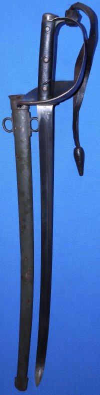 1899P Boer War British Army Veterinary Corps Trooper's Sword, Sold