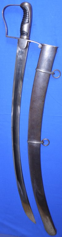 1796P Waterloo British 18th Light Dragoons (Hussars) Light Cavalry Trooper's Sabre