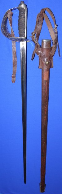WW1 British Infantry Officers Sword, Oldfields Liverpool