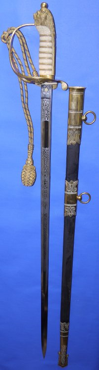 WW1 era British Royal Naval Officer's Sword