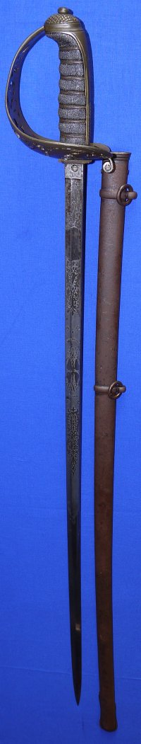 Victorian / Boer War British Royal Engineer Officer's Sword