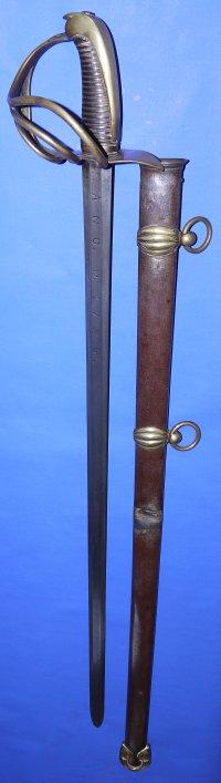 1796M Spanish Officer's Sword, Peninsular War Trophy