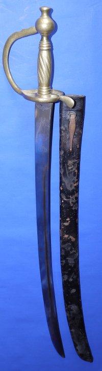 1715/1786M Waterloo Prussian Fusilier's Sword