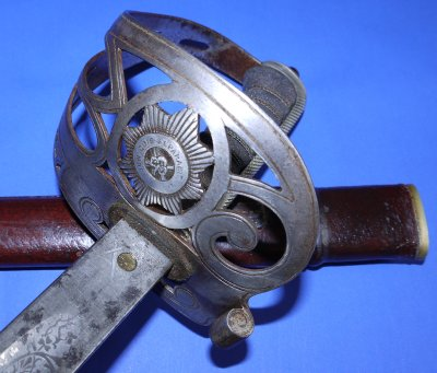 WW1 British Irish Guards Officers Sword