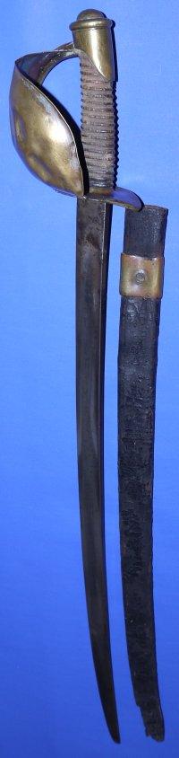 M1860 US Civil War Cutlass, dated 1862
