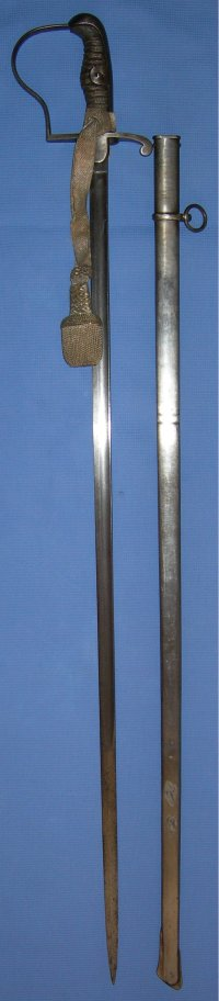 1854/1869 Model Danish Artillery Officer's Sword