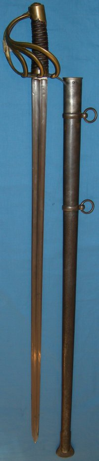 Waterloo French An XIII Cuirassier Sword, Imperial Klingenthal 1814, Versailles hilt