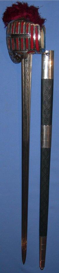 1930's Stirling Style Broadsword, Meyer & Mortimer, 5th Marquis of Ailsa