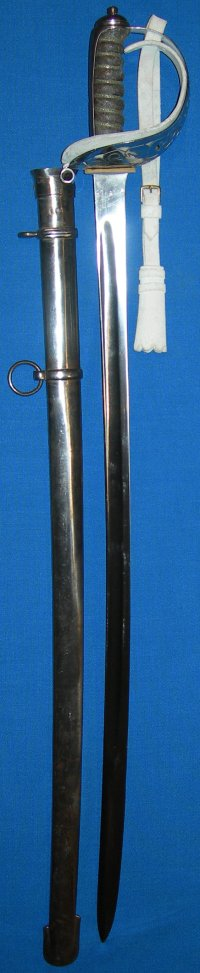 1892 Patt English Household Cavalry Life Guards Trooper's Sword