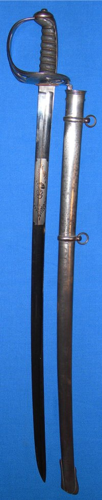1827 Pattern Victorian British / Irish Queen's Own Royal Rifles Officer's Sword