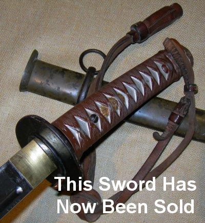 Wwii Japanese Sword Serial Numbers