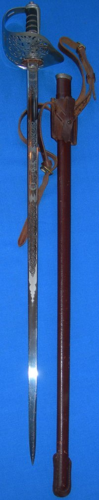 ERII (Queen Elizabeth 2nd) British Army Officer's (Wilkinson) Sword