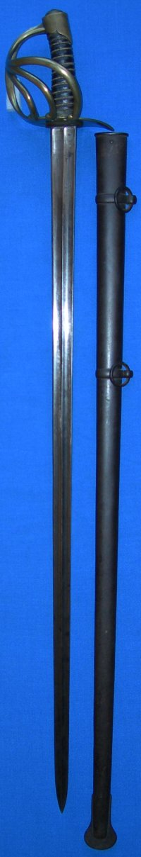 Waterloo Battle Trophy: Napoleonic French An XI / XIII Heavy Cavalry Sabre / Sword
