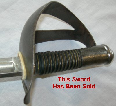 Danish Heavy Cavalry Trooper's Sword (Model 1899)