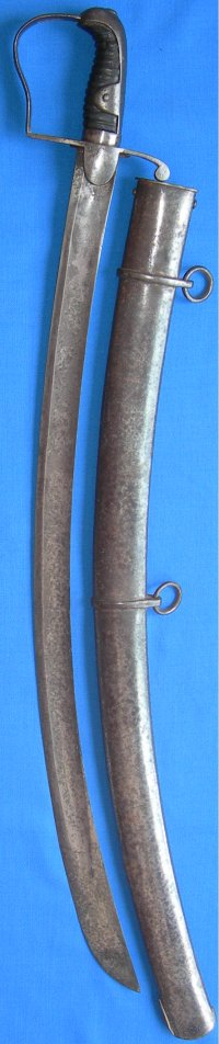 1796P British Light Cavalry Trooper's Sabre, Gill,