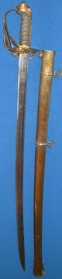 1822 Pattern George IV British Infantry Officer's Sword by Salter