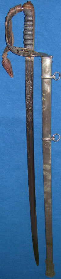 1895P Wilkinson Infantry Officer's Sword, Grenadier Guards blade