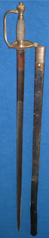 1796 Pattern Napoleonic British Infantry Officer's Sword